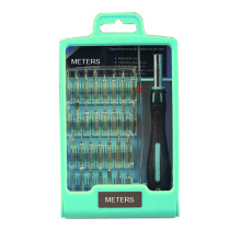 Bits de chave de fenda Set embalagem com caixa de plástico