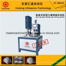 Machine automatique de soudure et de découpage de masque de tasse