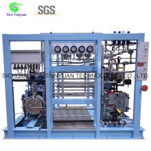 150nm3 / H Déplacement Krypton Gas Diaphragm / Membrane Compressor