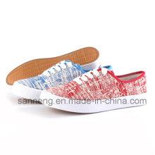 Chaussures de toile femmes chaussures avec bon prix (SNC-24237)