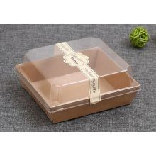 Kraft Paper Brown Sandwich Packaging Box