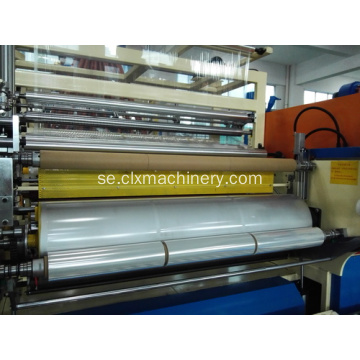 Inpackning Stretch Film Extrusion Machinery Pris