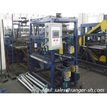 sandwich panel roll forming machine/rock wool composite panel making machine