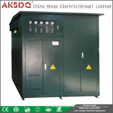 Hot SBW 1000Kva Tres fases de alta potencia Sub-tono Compensación automática Estabilizador de voltaje de alimentación Yueqing