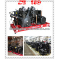double acting and reciprocating 40bar air compressor