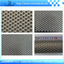 Filet de filtre en treillis métallique fritté
