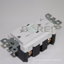 YGB-093WR American wall socket gfci duplex receptacle made in china