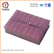 Caja de regalo de embalaje de cartón personalizado para artesanía
