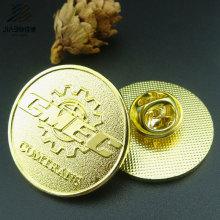 Morre o emblema feito sob encomenda do metal do Pin do logotipo do ouro da carcaça para o presente relativo à promoção