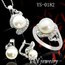 Moda al por mayor 925 perlas de plata conjunto (YS-0182)