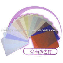 cotton woven interlining for clothing accessories