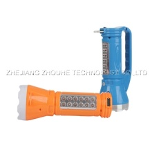 1+12 LED Rechargeable torch