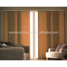 sliding panel track blinds for dinner room