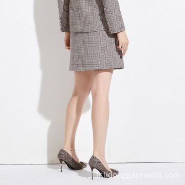 Femmes A-line Office / Casual Suit Dress / Jupe