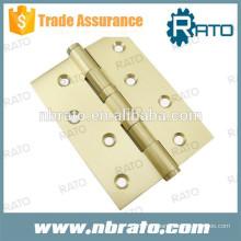 RH-116 silêncio 4BB porta de madeira dobradiça de bronze