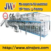Machine de fabrication de couches pour bébés en forme de T JWC-NK450-EB