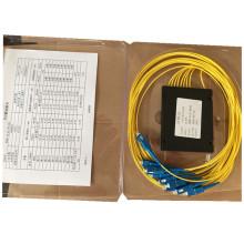 ABS Box Sc / Upc Conector 1 * 8 PLC Splitter