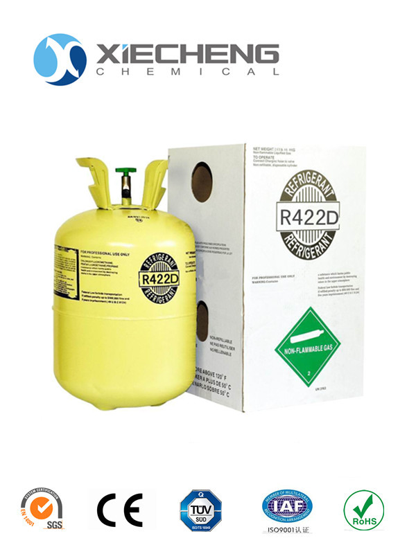 New refrigerant gas R422D