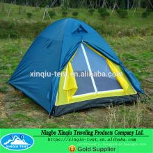 хорошее качество 2 человек купол палатки