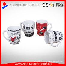 High Quality Advertising Logo Printed Porcelain Mug