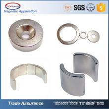 Hard disc shaped N35 neodymium magnets