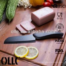 High Fashion Ceramic Blade Printing ABS Handle Water Transfer Printing Damascus Knife
