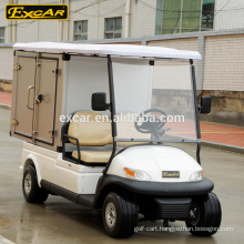 functional 2 seat electric mobile food cart, room service cart, hotel laundry cart