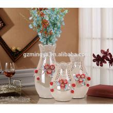 Домашнее украшение отсутствие moq свадьба пола декоративная ваза для цветов подарки для семьи современный керамическая ваза