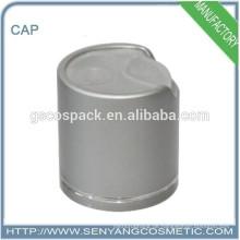 Goldene oder silberne Aluminiumkappen für Glasflaschen Haustierflaschenkappen
