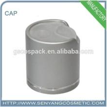 golden or silver aluminium caps for glass bottles pet bottle caps