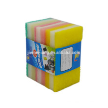 hot kitchen products 3 iN 1 deluxe cleaning sponge nylon hot pads with various color