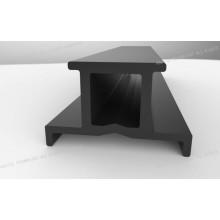 30,6 mm Largeur Extrudé Heat Break Nylon Profil pour Rideaux