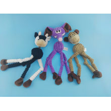 Long Leg Cutton Rope Elephent Toy for Pets