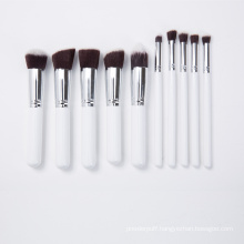 Synthetic Hair Wholesale 10PCS Make-up Brush for Promotion