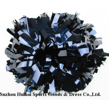 Metallic Navy Cheering POM Poms