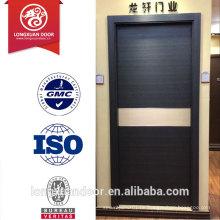 Fabrik Custom Eco-friendly Melamin Finish Holz Türen, Composite MDF Tür, einfache Stil Büro Türen / Hotel Türen