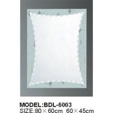 Miroir de salle de bain en verre argenté d'épaisseur 5 mm (BDL-6003)