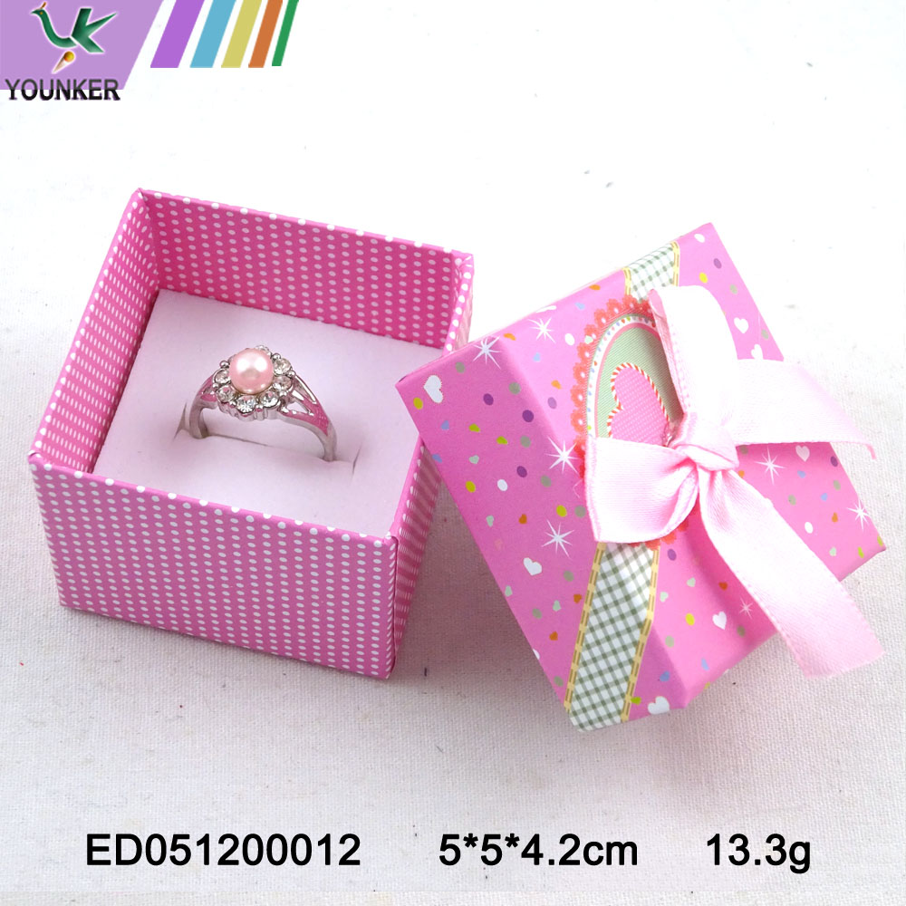 Foil Stamp Ring Box