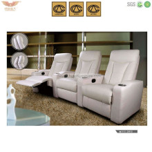 Hotel Reception Office Living Room Furniture Functional Recliner Sofa (HY-2613)
