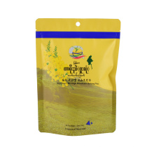 Bio Bag Compostable Zipper Tea Snack Packaging Food Bag Kraft Paper Biodegradable Products