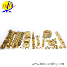 OEM Customized Brass Pipe Fittings (elbow, tee, connector, coupling)