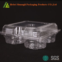 Clear transparent plastic egg tart packaging