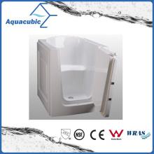 Acrylic Walk-in Wheelchair Safe Bathtub for Disabled (AB3138HW)