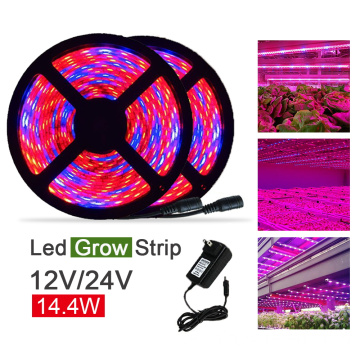14.4w / meter SMD5050 LED Grow Strip