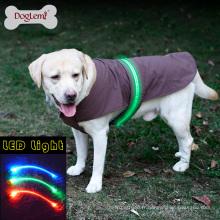 En gros De Mode Belle sécurité LED Gilet Gilet Imperméable Hiver Vêtements pour animaux de compagnie