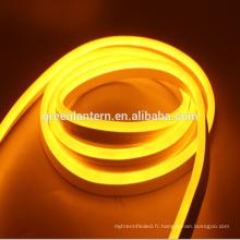 L'intense luminosité AC110V 220V DC12V 24V SMD2835 a mené la lumière de corde de néon de câble