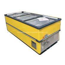 convenience store European large volume deep chest freezer
