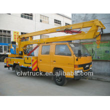 factory price JMC 12--16m crew cab lift platform,aerial platform truck for sale