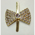 Small Rhinestone Shoe Buckles, Charming Alloy Rhinestone Lady Shoe Buckle