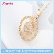 Золотые монеты подвеска ожерелье алмазов цена за карат золота круг ожерелье идеи